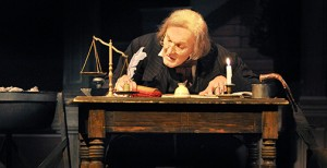 Actor Gary Neal Johnson will again play Ebenezer Scrooge for A Christmas Carol.