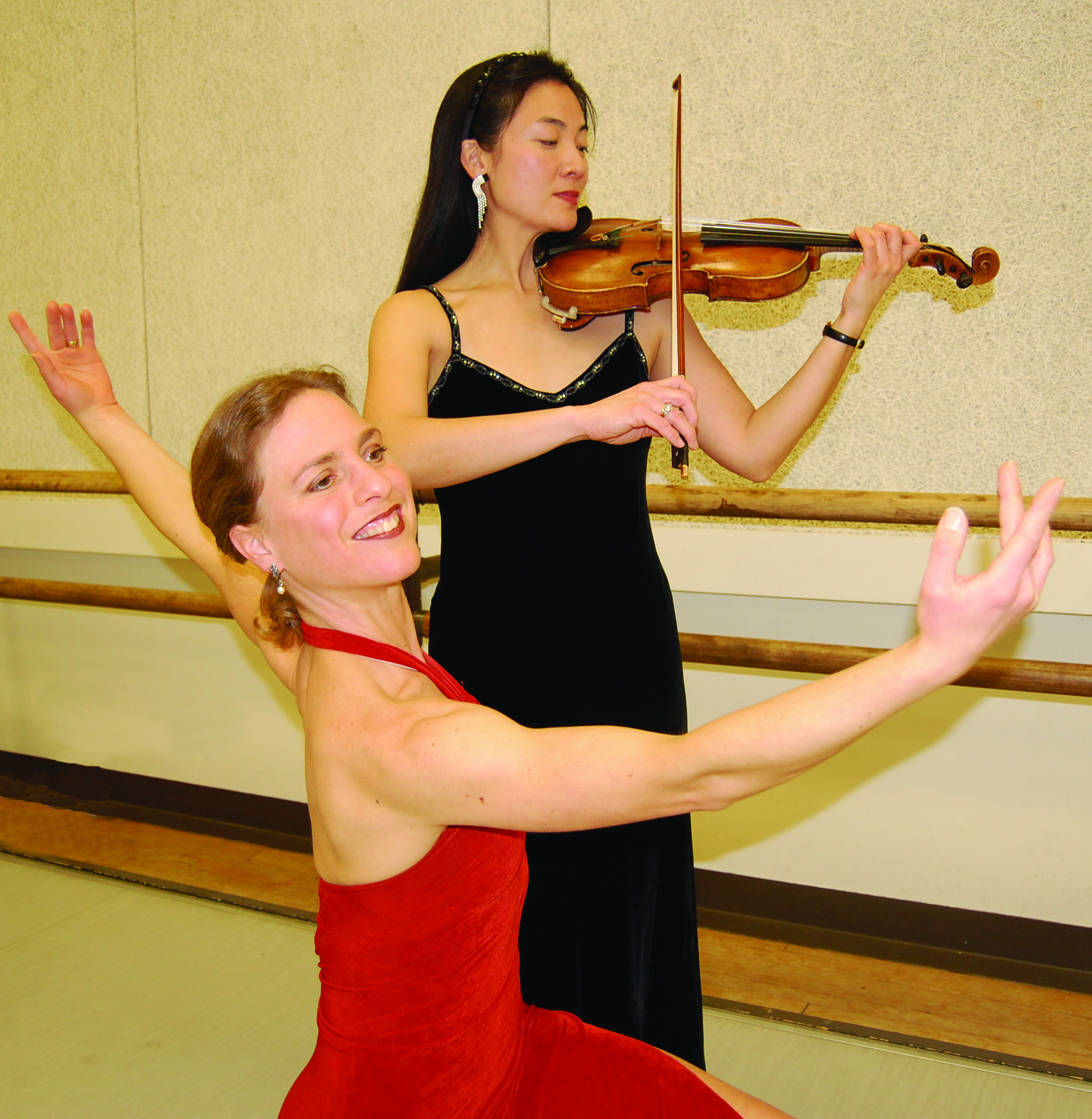 Bach Aria Soloist founder Elizabeth Suh Lane and Owen/Cox co-founder Jennifer Owen.