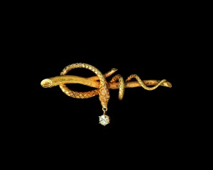 Serpent, circa 1860 Designer unknown Photography: John Bigelow Taylor