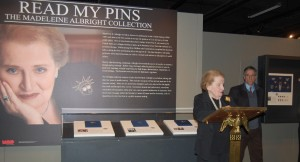 The Dr. Madeleine Albright exhibition at the Truman Library.