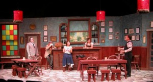 Picasso at the Lapin Agile. Photo courtesy of OCTA.