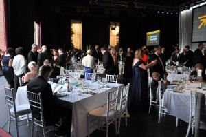 The Annual Benefit Gala is the year's largest fundraiser for Starlight Theatre. Last May, Gala attendees shared in pre-dinner festivities on Starlight's Cohen Community Stage.