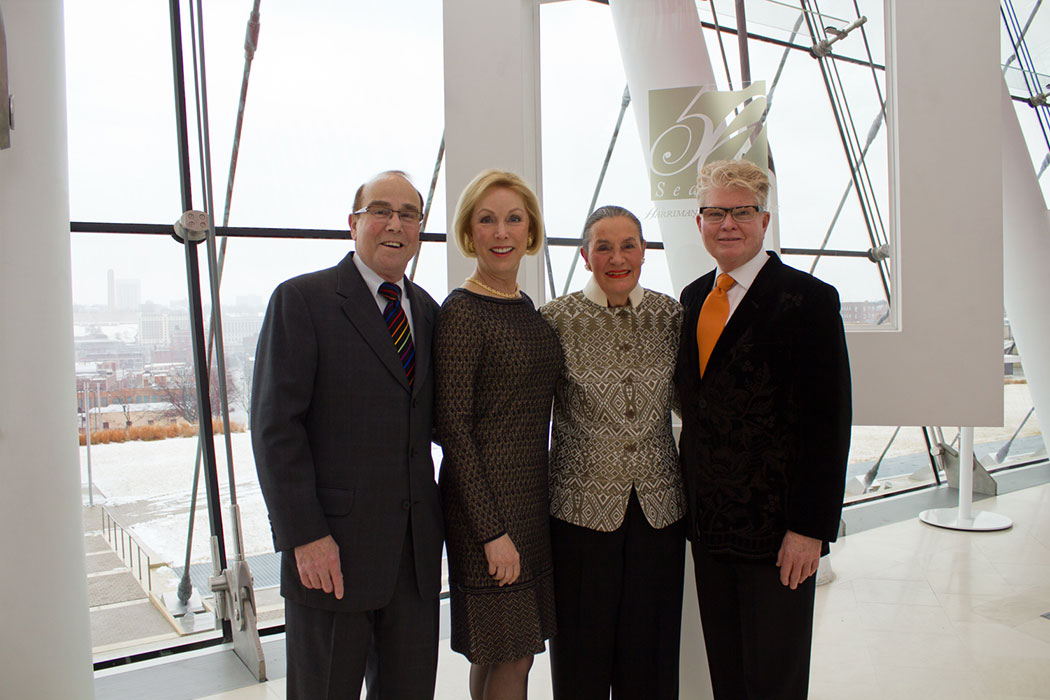 Marty Smoler, Suzanne Shank, Jackie Middelkamp (event chair) and John Rufenacht.