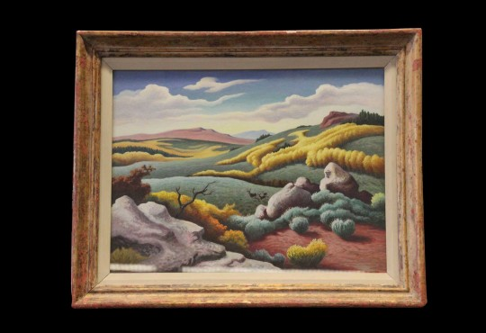 Shawnee Mission North's Benton painting moves to Nelson-Atkins