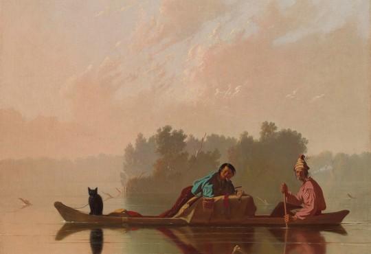 "Eastward Ho for ""Missouri's Artist"""