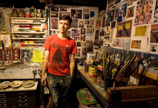 Last Glance: Kansas City Artist David Rhoads Heads East