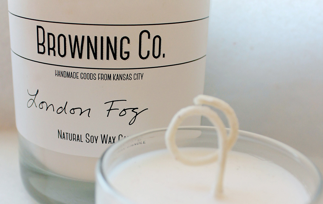 Browning Co. Natural Soy Wax Candles