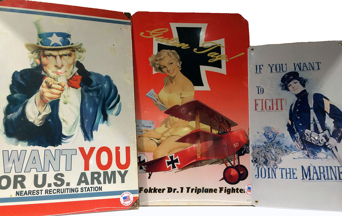 Vintage posters from WWI Museum