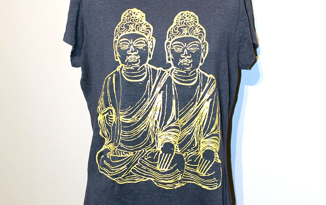 Buddha Buddha T-Shirts by Kristopher Clark