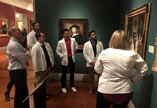 Arts News: New Program Helps Medical Students Discover the Benefits  of Art