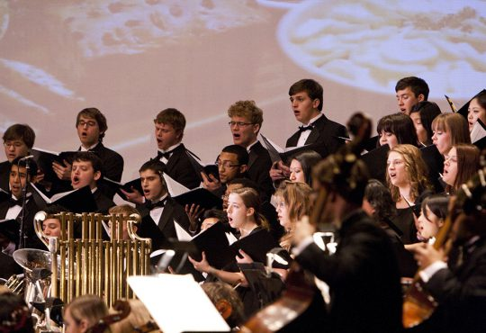KU Choirs and Symphony Orchestra to Hold Free Vespers Concert Dec. 1 at JCCC
