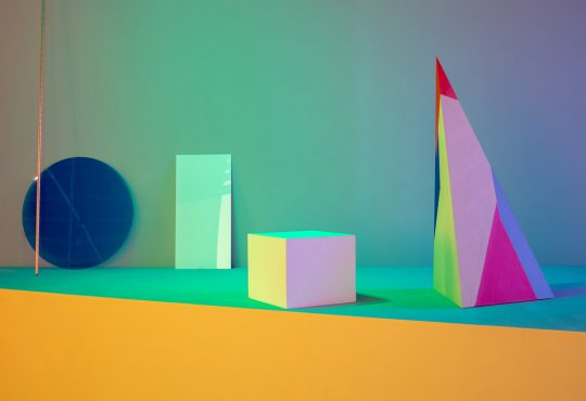 """""""Dannielle Tegeder – Chroma Machine Suite: Forecasting Fault Lines in the Cosmos,"""" H&R Block Artspace at the Kansas City Art Institute"""