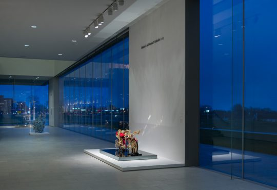 """FACE: Ed Blackburn · Archie Scott Gobber · Elizabeth 'Grandma' Layton · Douglas Miles · Carlos Vega,"" Nerman Museum of Contemporary Art"