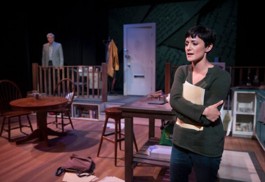 "Business and Heart in ""Skylight,"" Presented by Kansas City Actors Theatre"
