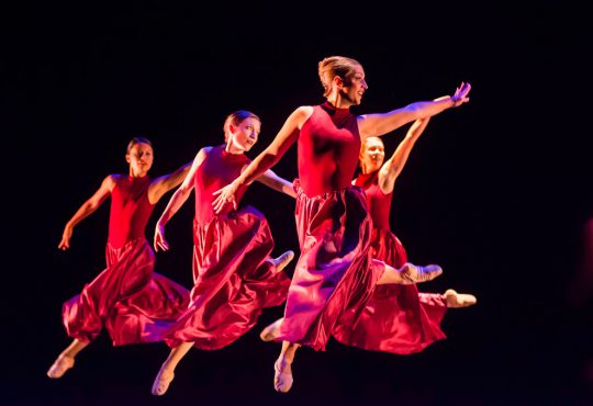 Four Companies. Four Choreographers. Four World Premieres.