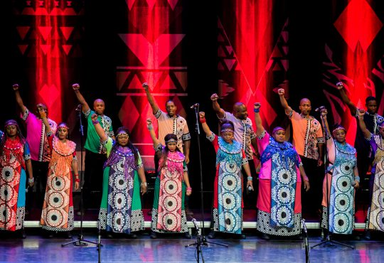 Much Rejoicing: Soweto Gospel Choir Honors Nelson Mandela in Kansas