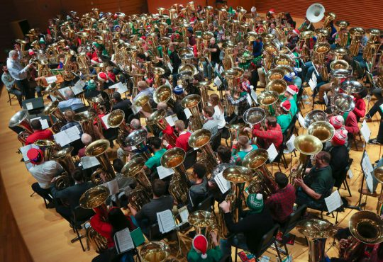 TubaChristmas 2018 Aims for Guinness Book  of World Records