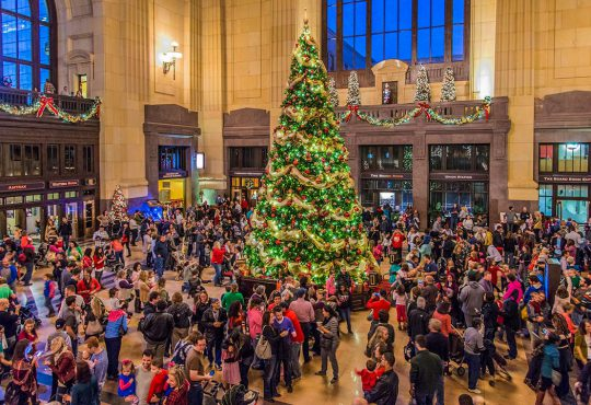 """""""Holidays Come Alive"""" at Historic Union Station"""