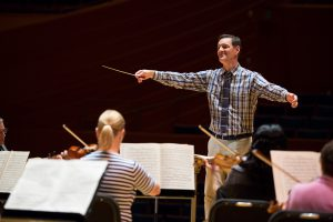 Bruce Sorrell conducts the Kansas City Chamber Orchestra