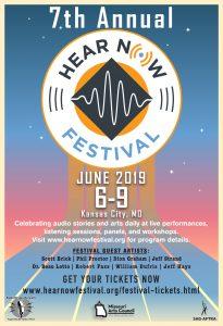 7th Annual HEAR Now Festival, June 6-9, 2019