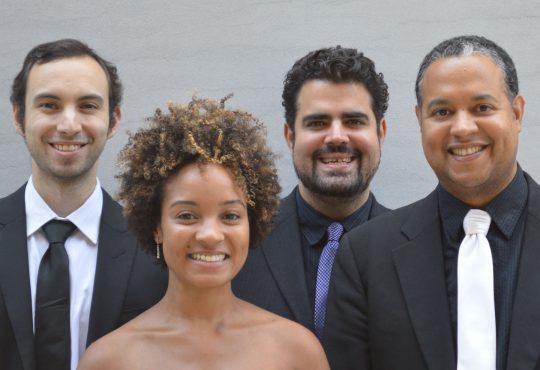 Harlem Quartet Comes to Carlsen Center as Ensemble-in-Residence for Heartland Chamber Music Festival