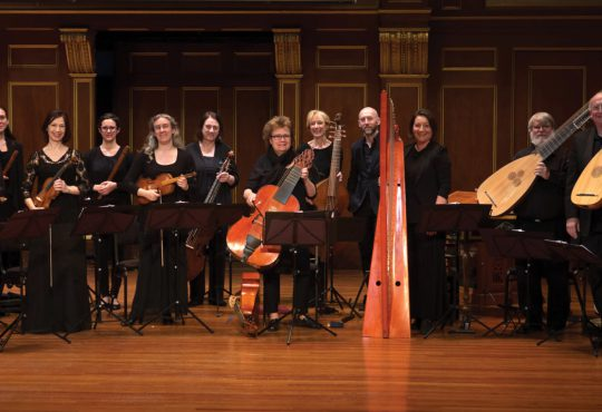 "Love and Laments: ""La storia di Orfeo"" with Philippe Jaroussky, Amanda Forsythe and Boston Early Music Festival Chamber Ensemble"