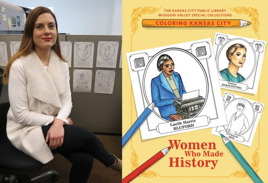 Picture This: Library Coloring Books Tell the Stories of Notable Women in KC History