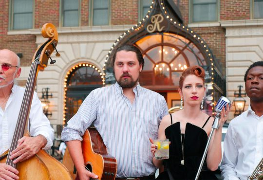 Live Jazz Plays a Central Role in the Chaz Dining Experience