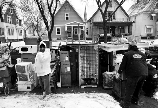 Conversation Starter: Library Exhibition Spotlights 'Scourge' of Eviction