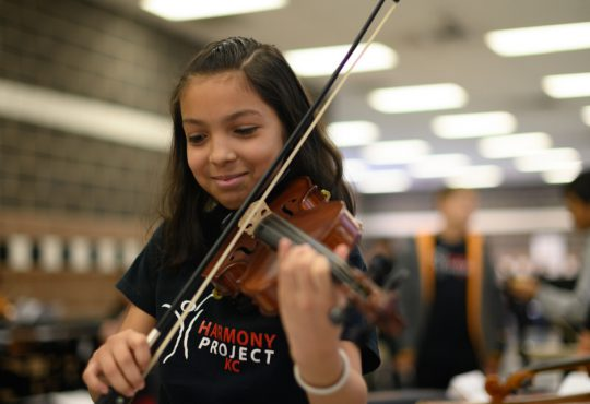 Support Music Access for Children in the Urban Core with Harmony Project KC