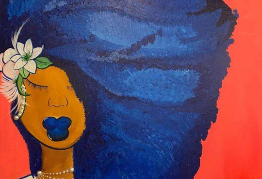 New Natasha Ria Art Gallery Opens with Exhibit of Vivian Bluett