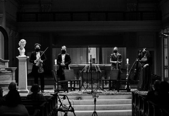 The Opus 76 Quartet, Kansas City's Premier String Quartet, Announces Exciting New Partnership