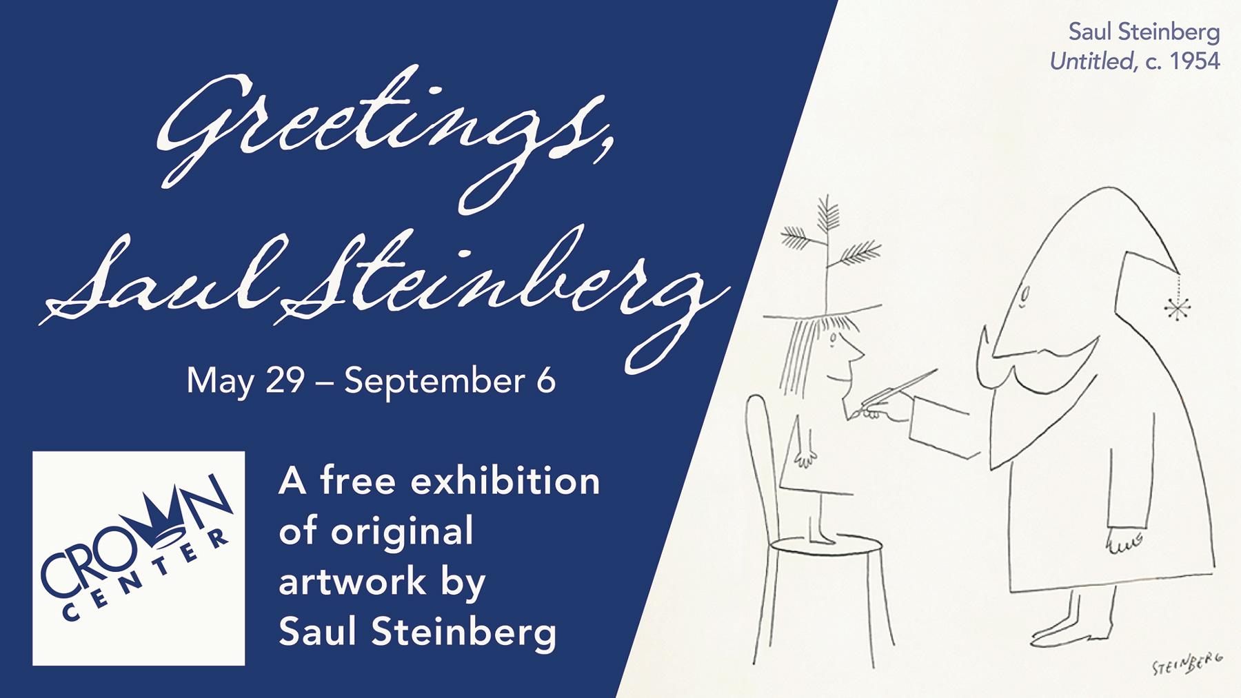 Greetings, Saul Steinberg
