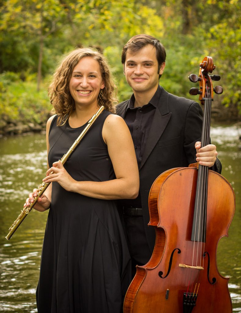 Music in the American Wild co-directors Emlyn Johnson and Daniel Ketter