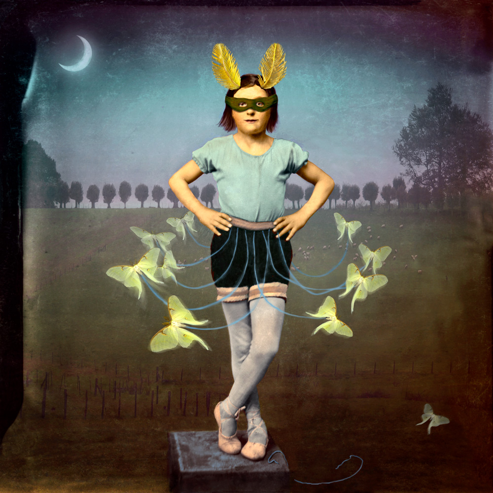 """Maggie Taylor, """"Moth Dancer"""" (2004) (courtesy of the artist)"""