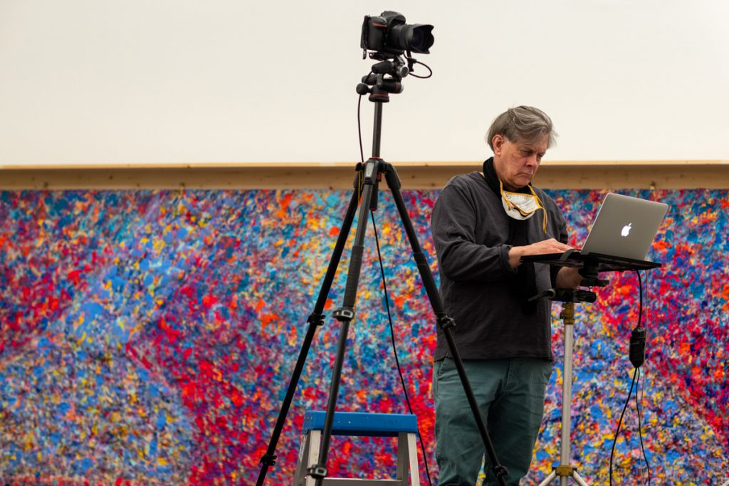 Recent assignments included photographing the artwork of Vaughn Spann for an exhibition at Kemper Museum of Contemporary Art.  (photo by Jim Barcus)
